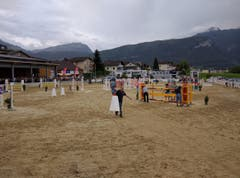 Alles ist bereit für den letzten Nachmittag der Schwyzer Pferdesporttage in Ibach. (Bild: Geri Holdener, Bote der Urschweiz)
