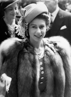 Ein Portrait der Queen im Jahr 1947. (Bild: Keystone)