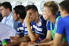 Luzerns Remo Freuler enttäuscht nach dem Spiel. (Bild: Philipp Schmidli)