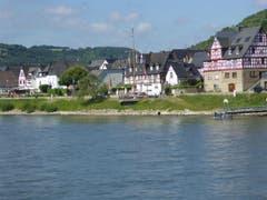 """Am """"Romantischen Rhein"""" zwischen Rüdesheim und Koblenz sind viele schöne Dörfer zu sehen (Bild: Hans Scheidegger)"""