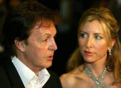 Auch ihre Liebe dauerte nicht ewig: Ex-Beatle Paul McCartney und seine zweite Ehefrau Heather Mills gingen 2008 nach sechs Ehejahren auseinander - 48,6 Millionen Dollar kostete ihn die Scheidung. (Bild: Keystone)