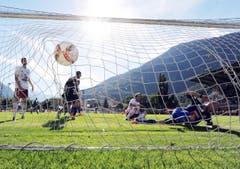 Obwohl der FC Naters kämpfte und den FCL forderte, war er am Ende chancenlos. (Bild: OLIVIER MAIRE)
