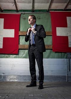 3. Platz, Kategorie Porträt, Thomas Aeschi (Bild: Swiss Press Photo / Marco Zanoni)
