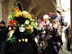 Solche Schönheiten trifft man wirklich nur in Venedig an ! (Bild: Margrith Imhof-Röthlin)