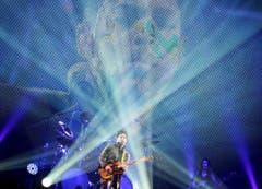 Purple Rain Star Prince bei einem Konzert 2010 in Italien. (Bild: Keystone)