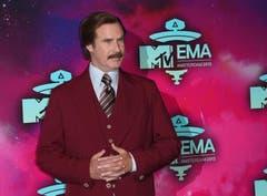 Will Ferrell, in seiner Paraderolle als Ron Burgundy. (Bild: Keystone)