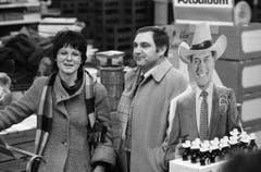 """An der Seite von Silvia Jost spielte Jörg Schneider in den 80er-Jahren auch in der TV-Serie """"Motel"""". (Bild: Keystone)"""