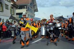 Farbige Töne in Giswil ... (Bild: Romano Cuonz (Neue NZ))