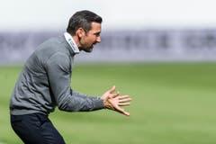 Trainer Joe Zinnbauer von St. Gallen. (Bild: (KEYSTONE/Sebastian Schneider))