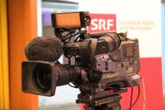Das Schweizer Fernsehen wird mit einer Live-Schaltung über den Wahlausgang berichten. (Bild: Geri Holdener)