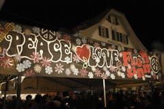 Motto dieses Jahres: Peace & Love (Bild: André A. Niederberger (Neue NZ))