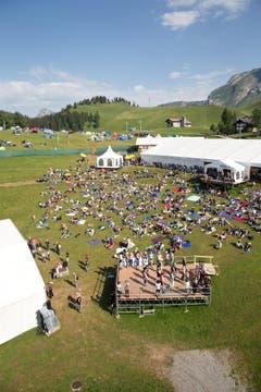 Impressionen des Country Openair auf der Klewenalp am Samstag. (Bild: Manuela Jans (Neue LZ))