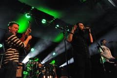 Die Band «To Kill a King» auf der Bühne. (Bild: PD)