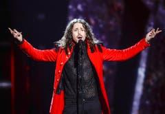 «Color of Your Life» heisst das Lied, das Michal Szpak, der Polen am Eurovision Song Contest vertritt, zum Besten gab. (Bild: EPA/MAJA SUSLIN)