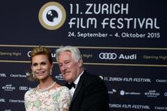 Der Schweizer Bauunternehmer Walter Beller und seine Frau Irina. (Bild: Keystone)