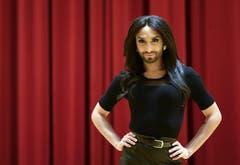 Platz 3: Conchita Wurst. Gewinner des Eurovision Song Contest 2014. (Bild: Keystone)