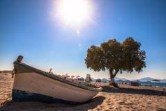 Strandimpressionen auf Kos (Bild: Daniel Hegglin)