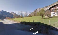 So sah die Stelle im Sommer aus. (Bild: Google Street View)