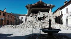 Quake in central Italy (Bild: Keystone)