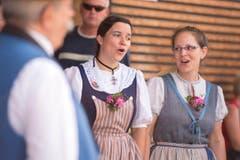 Eine Jodertruppe sorgte für die musikalische Unterhaltung. (Bild: Maria Schmid)