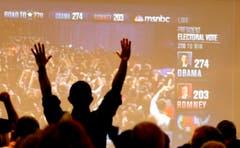 Auch in Arizona feiern die Demokraten den Sieg von Barack Obama. (Bild: Keystone)