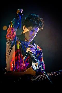 Im Herbst 2012 gab der Sänger ein Konzert in Chicago. (Bild: Keystone)