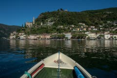 Das Dörfchen ist am Südteil des Lago di Lugano gelegen... (Bild: Pablo Gianinazzi / Keystone)