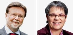 GENF - Robert Cramer (bisher), Grüne und Liliane Maury Pasquier (bisher), SP (Bild: Keystone / Handout)