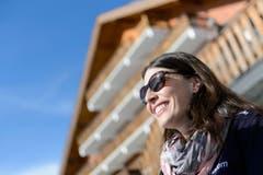 Mit einem lachenden und einem weinenden Auge verlässt Dominique Gisin die Ski-Bühne. (Bild: JEAN-CHRISTOPHE BOTT)