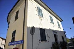 Quake in Caldarola, central Italy (Bild: Keystone)