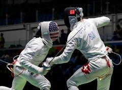 Der Amerikaner Jason Pryor (links) und der Schweizer Benjamin Steffen in Aktion. (Bild: Vincent Thian)