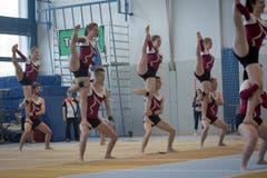 Impressionen des 15. Gym-Day in Grosswangen. (Bild: Yann Krieger, Grosswangen, 27. Mai 2017)