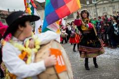 "Umzug ""ZüriCarneval 2015"" (Bild: ENNIO LEANZA)"