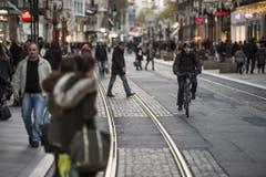 Platz 10: Streik der Transports Publics Genevois (TPG) in Genf. (Bild: Keystone)