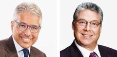 TESSIN - Fabio Abate (bisher), FDP, links und Filippo Lombardi (bisher), CVP (Bild: Keystone / Handout)
