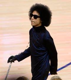 Prince im März 2016 beim NBA-Spiell zwischen Oklahoma City Thunder und Golden State Warriors in Kalifornien. (Bild: Keystone)