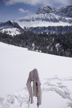 Dank Föhnunterstützung grandiose Ostermontag-Schneeschuhtour auf Niederbauen (Bild: Brigitte Wyrsch)