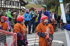Impressionen von der Kinderfasnacht Sachseln 2016. (Bild: Marion Wannemacher)