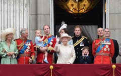 Familienbild auf dem Balkon des Buckingham Palastes. (Bild: Keystone)
