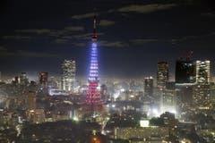 Der Tokyo Tower. (Bild: AP/Shigeru Nagahara)