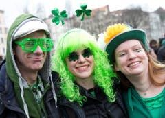 In Berlin fand die Parade bereits am Sonntag statt. (Bild: Keystone)