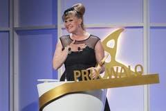 Auch «The Voice»-Gewinnerin Nicole Bernegger (Sparte Newcomer) erhielt heuer bereits einen SMA. (Bild: Keystone)