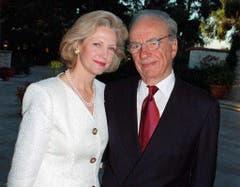 Der 83-jährige Medienunternehmer Rupert Murdoch ist bereits dreimal geschieden. Am teuersten war die Trennung von seiner zweiten Ehefrau Anna - mit 1,7 Milliarden die zweitteuerste Scheidung aller Zeiten. (Bild: Keystone)
