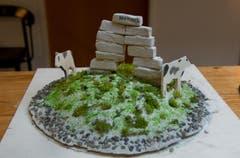 Projekt «Tor aus Stein». (Bild: Corinne Glanzmann/Neue NZ)