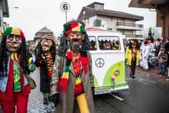 MARASTAS (Jamaika-Hippie Bus) (Bild: Manuela Jans-Koch)