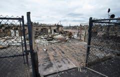 Hier endete einst der Heimweg. (Bild: Jonathan Hayward/The Canadian Press via AP)