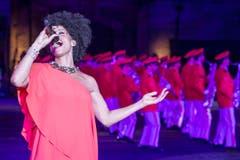 Sängerin Nubya (Bild: Keystone / Patrick Staub)