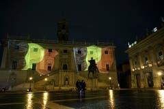 … das Kapitol in Rom, … (Bild: AP Photo / Andrew Medichini)