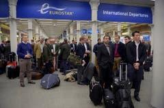 Eurostar-Terminal, London (Bild: AP / Anthony Devlin)