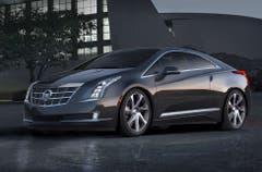 Cadillac ELR: Mit 207 PS und 400 Nm ist der US-Stromer mit Reichweitenverlängerer deutlich kräftiger als sein Technikbruder Opel Ampera. (Bild: PD)